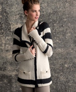 Graphic Knits - Laszlo Cardigan beauty shot