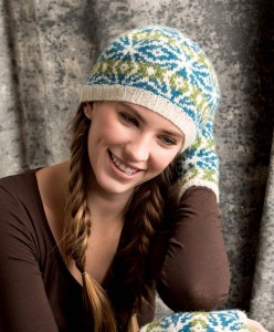 Graphic Knits - Woodstar Beret beauty shot